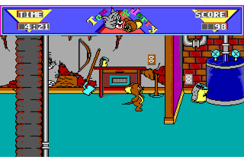 Tom & Jerry: Yankee Doodle's CAT-astrophe (1990 - DOS ...