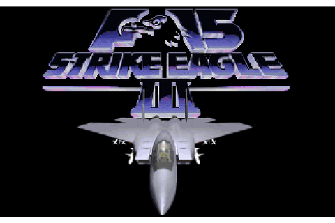 F-15 Strike Eagle III | Play DOS games online