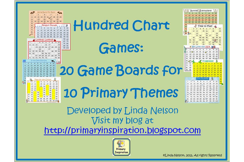 Primary Inspiration: Hundred Chart Games - Free!