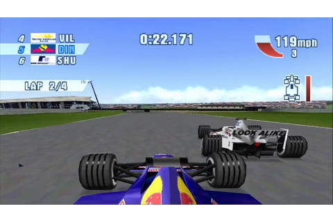 F1 2000 (PSX) GAME-PLAY HD - YouTube