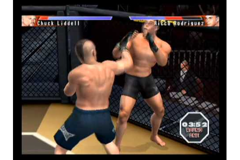 UFC Sudden Impact Ps2 Gameplay - YouTube