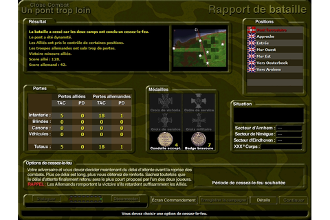 Close Combat : Un Pont trop loin - Abandonware France