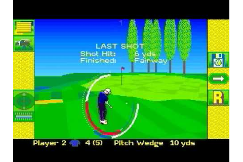 Microprose Golf - (Amiga) - YouTube