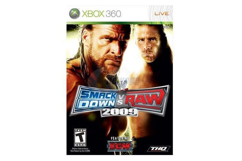 WWE Smackdown Vs Raw 2009 Xbox 360 Game - Newegg.com