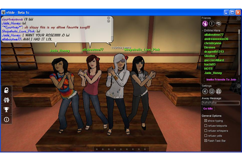 vSide Screenshots - Virtual Worlds for Teens