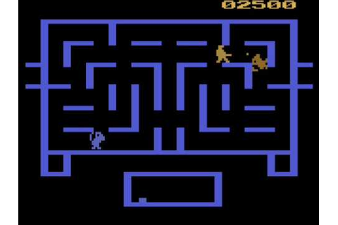 Wizard of Wor Atari 2600 Review - YouTube