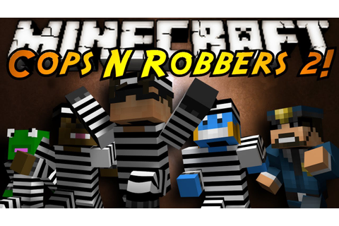 Minecraft Mini-Game : COPS N ROBBERS 2! - YouTube