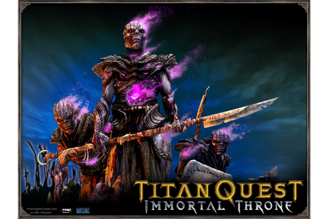 Titan Quest: Immortal Throne | Grim Dawn Wiki | Fandom ...