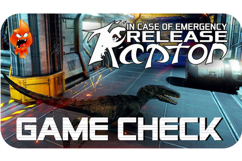 In Case of Emergency, Release Raptor Game Check (German ...