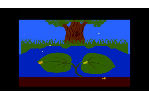 Frogs and Flies for the Atari 8-bit family - YouTube