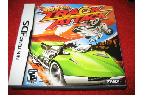 Hot Wheels: Track Attack (Nintendo DS, 2010) racing cars ...