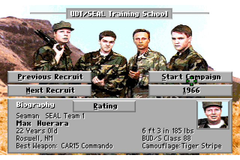 Download Seal Team strategy for DOS (1993) - Abandonware DOS