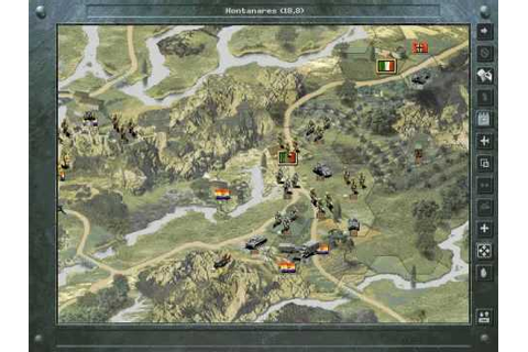 Panzer General II - First Campaign Scenario - YouTube