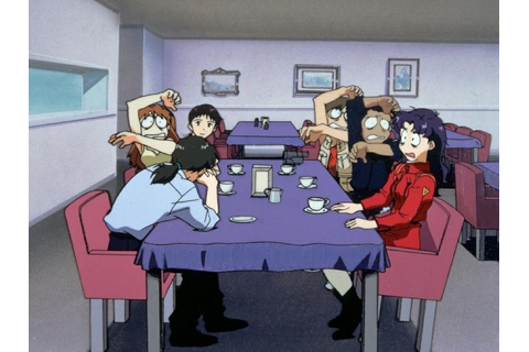 Image - Shocked at Misato's truth (NGE).png | Evangelion ...