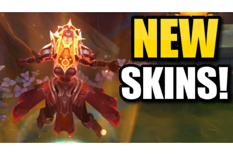 TWO *NEW* LEGENDARY LEONA SKINS?! || Solar Eclipse & Lunar ...