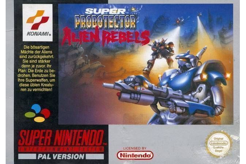 Super Probotector - The Alien Rebels ROM - Super Nintendo ...