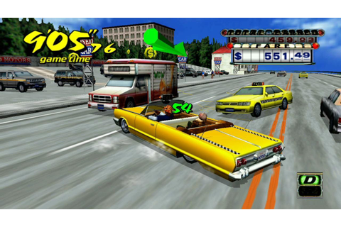 Games Mania: Crazy Taxi Game Wallpapers