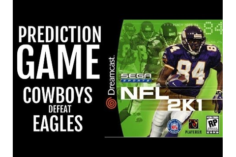 NFL 2K1 - SEGA DREAMCAST - PREDICTION GAME: Cowboys defeat ...