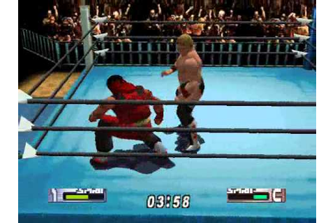 Virtual Pro Wrestling 2 CAW Match 2 - YouTube