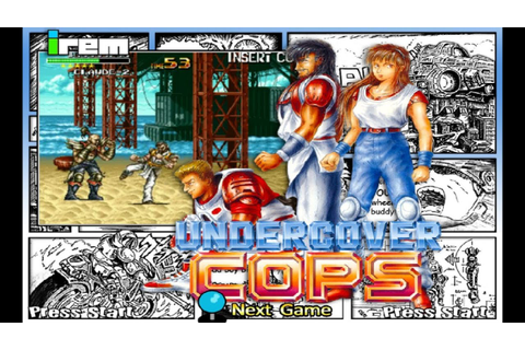 Undercover Cops (1992) Irem Mame Retrô Arcade Games - YouTube