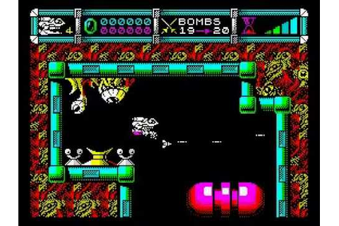 CYBERNOID 2 (zx spectrum game) - YouTube
