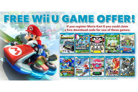 Don't Forget If You Buy Mario Kart 8 At Retail Or eShop ...