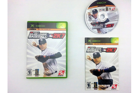 Major League Baseball 2K7 game for Xbox (Complete) | The ...
