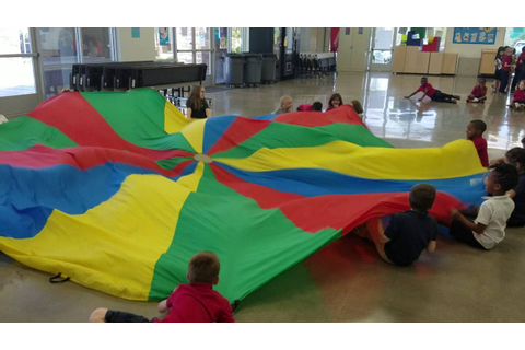 Parachute games for PE - YouTube