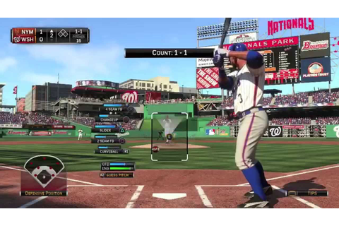 MLB 15 The Show (PS4) - Mets vs Nationals Full Game (Plus ...