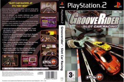 Grooverider - Slot Car Racing (PS2) - The Cover Project