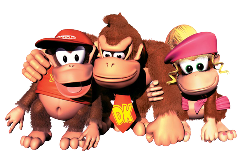 DKC 2: Diddy's Kong Quest Game Art Gallery