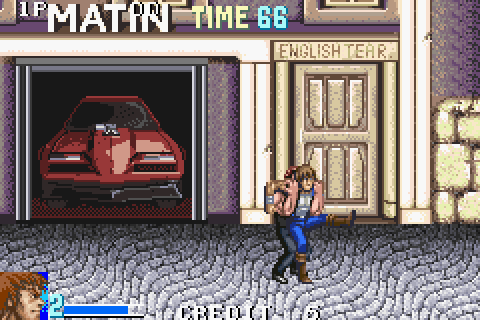 Double Dragon Advance (2003) by Million GBA game