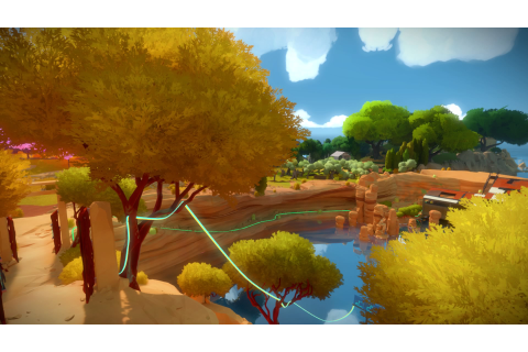 The Witness Review - Life Is One Giant Puzzle