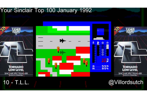 Your Sinclairs 100 Greatest Games - 10 T.L.L. (Tornado Low ...