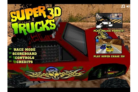 Super Truck 3D game, 4x4 Truck Racing Games, Videos Games ...