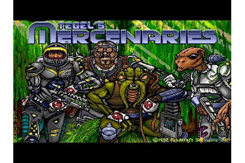 Tegel's Mercenaries gameplay (PC Game, 1992) - YouTube