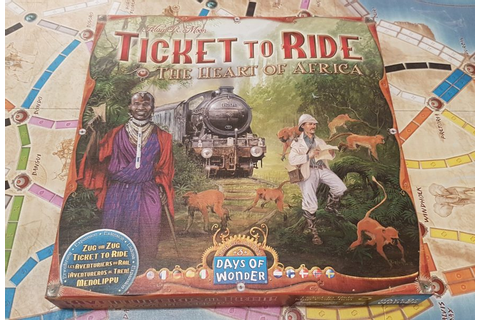 Ticket To Ride Heart Of Africa Review - New Continent, New ...