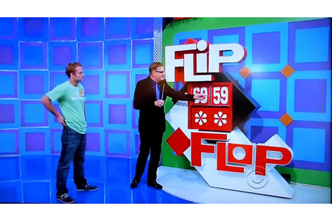 The Price is Right - Flip Flop - 2/10/2014 - YouTube