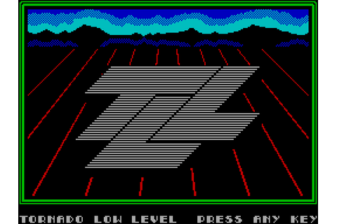Tornado Low Level (1984) ZX Spectrum game