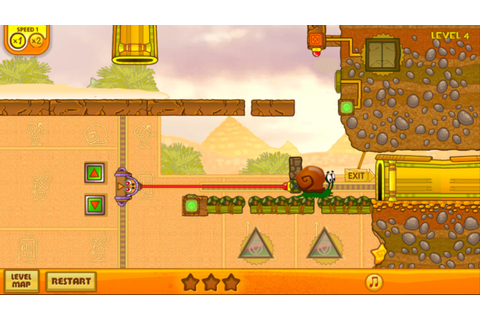 Snail Bob: Egypt Journey – Games for Android 2018. Snail ...