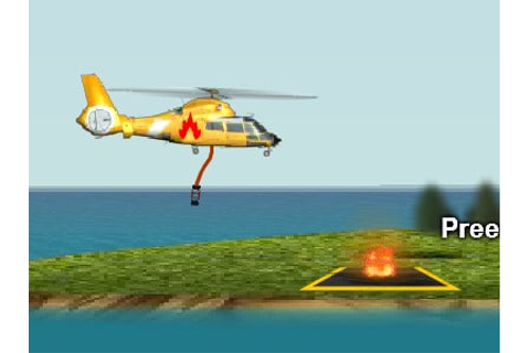 Fire Helicopter - online game | GameFlare.com