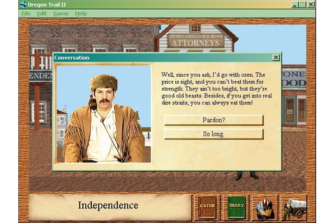 Oregon Trail II Screenshots for Windows - MobyGames