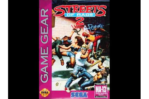 Streets of Rage 2 (Game Gear) music - In the Bar [10 min ...