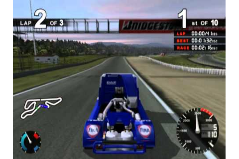 Super Trucks Racing (PS2 Gameplay) - YouTube
