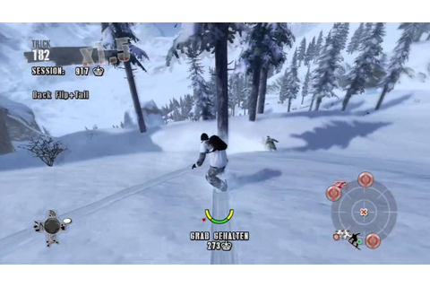 Shaun White Snowboarding Xbox 360 Gameplay - YouTube