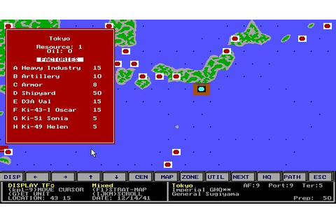 Gary Grigsby's Pacific War Download (1992 Strategy Game)