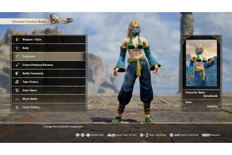 I made Gerudo Link in Soulcalibur 6 : Breath_of_the_Wild