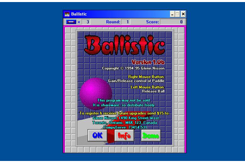 Download Balistic (Windows 3.x) - My Abandonware