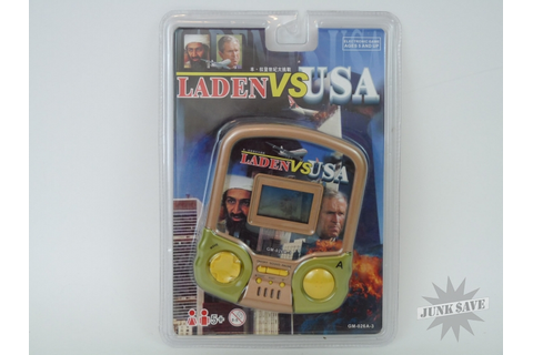 Laden VS USA 911 Handheld Video Game LCD Sept 11th | JunkSave
