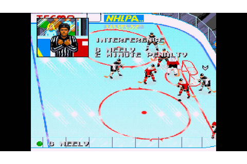 Tecmo Super Hockey ... (Sega Genesis) - YouTube